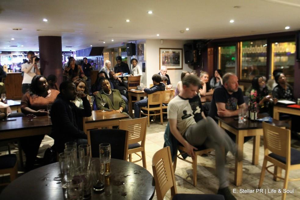 Life & Soul Toto's Wine Bar Bristol 090417 E. Stellar PR