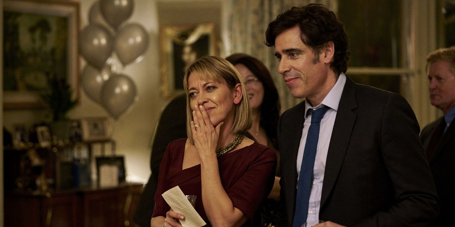 The Split Nicola Walker and Stephen Mangan BBC Sister Pictures Mark Johnson 1