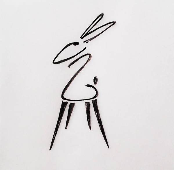 Hare in the Chair logo