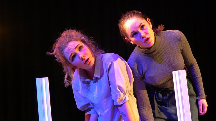 Annie Philbin and Katie Anderson in Darlings Palomar Theatre