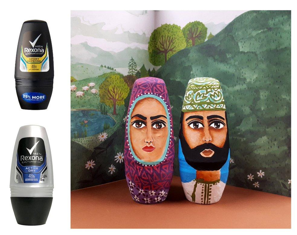 Kostis Grivakis - Deodorant Bottles Recycled