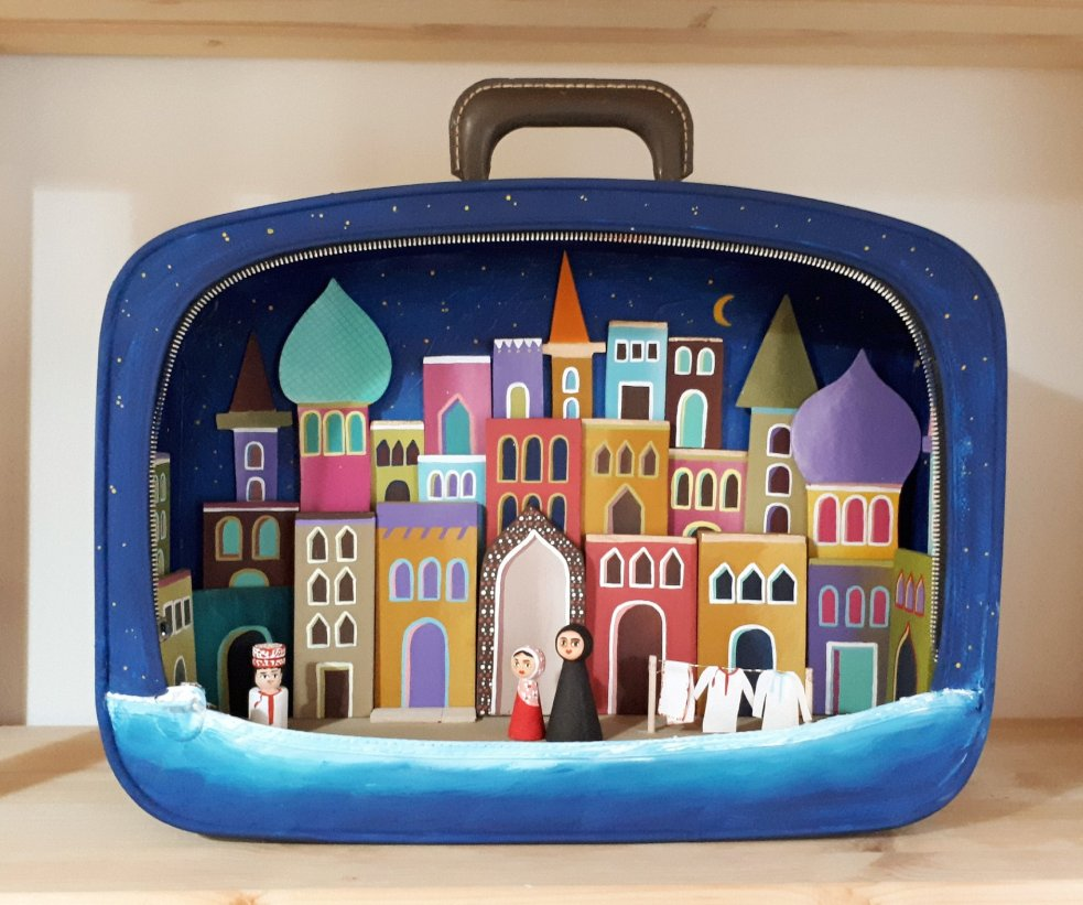 Kostis Grivakis - Old Suitcase Recycled