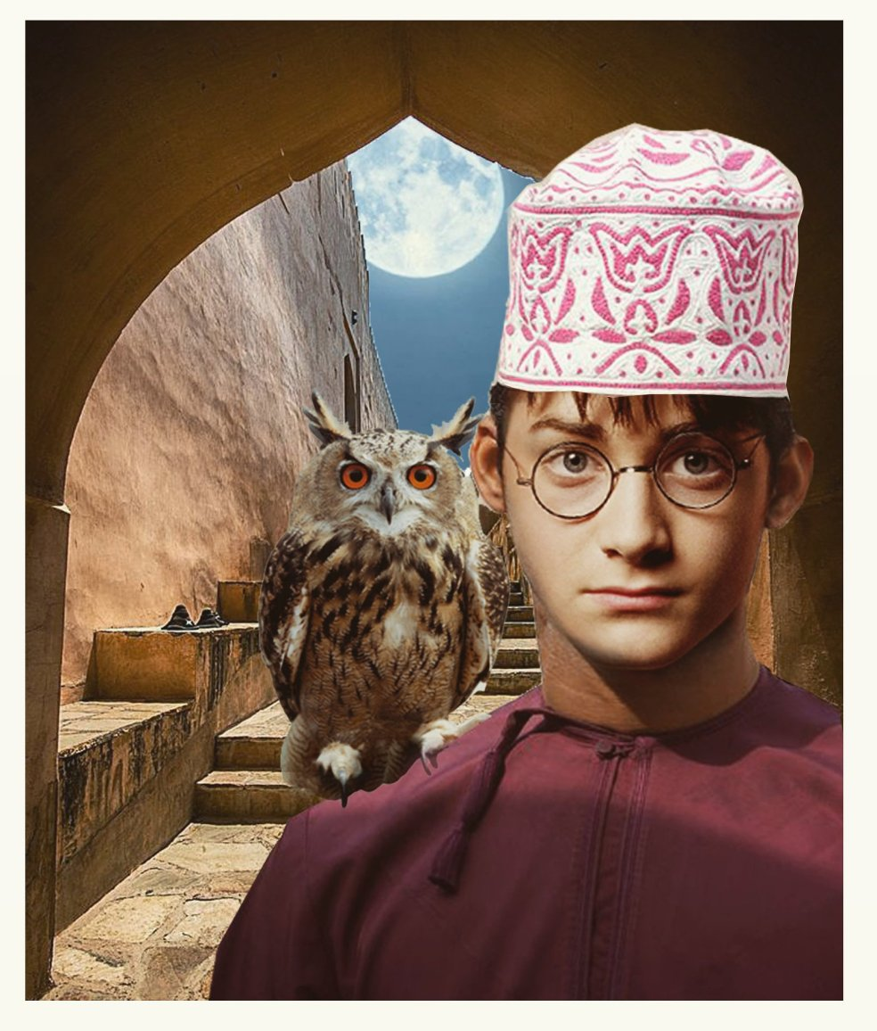 Kostis Grivakis - Omani Harry Potter collage