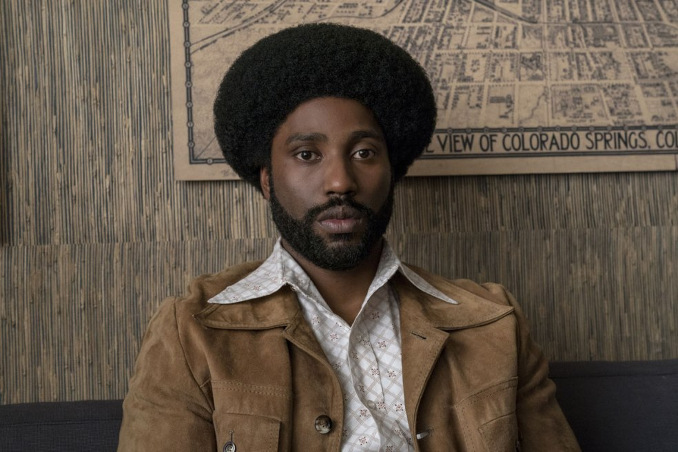 John David Washington as Ron Stallworth BlacKkKlansman